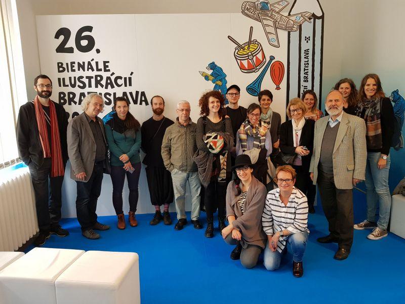 Rakúski ilustrátori na BIB 2017