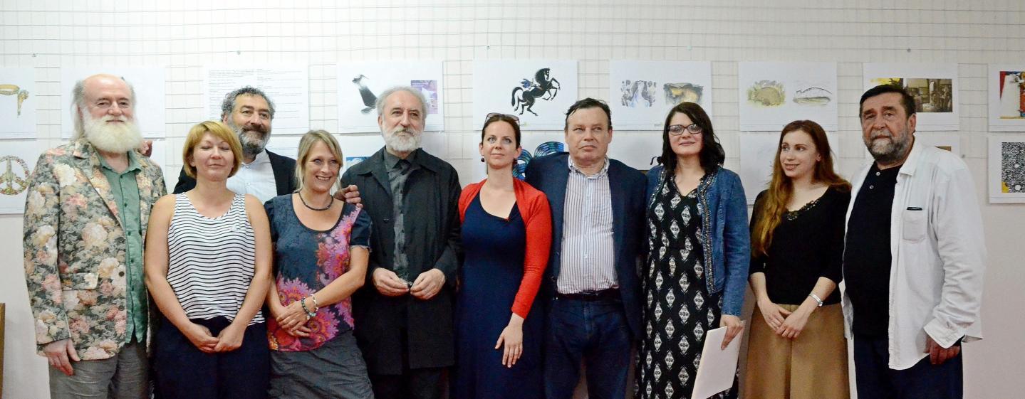 OCENENÍ ILUSTRÁTORI NA BIB 2017 - Novo Miloševo