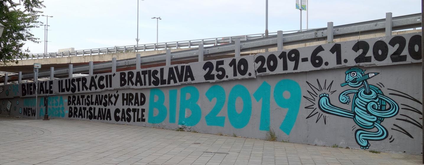 27. ročník Bienále ilustrácií Bratislava (BIB) 2019