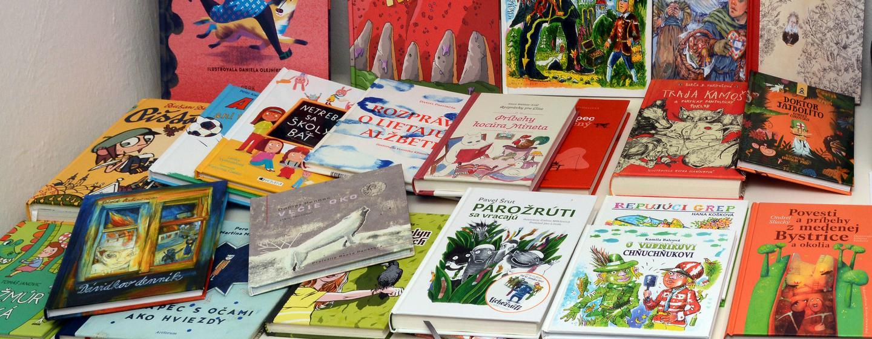 Najkrajšie a najlepšie detské knihy jari, leta jesene a zimy 2016 na Slovensku