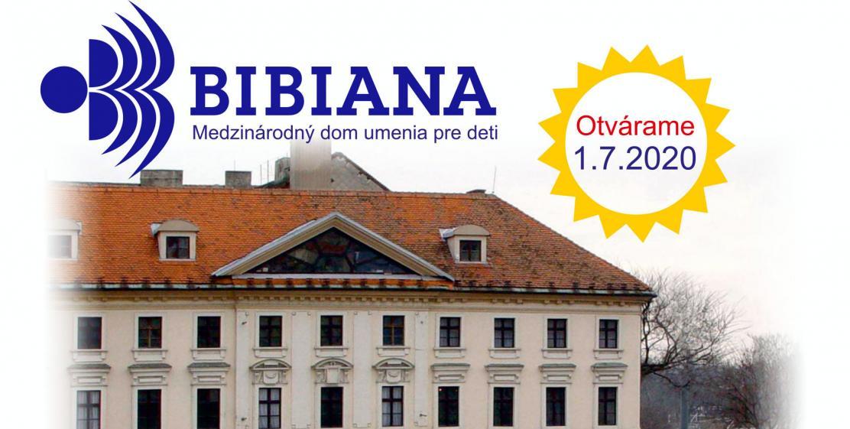 Všetky výstavné priestory v BIBIANE otvorené od 1.júla