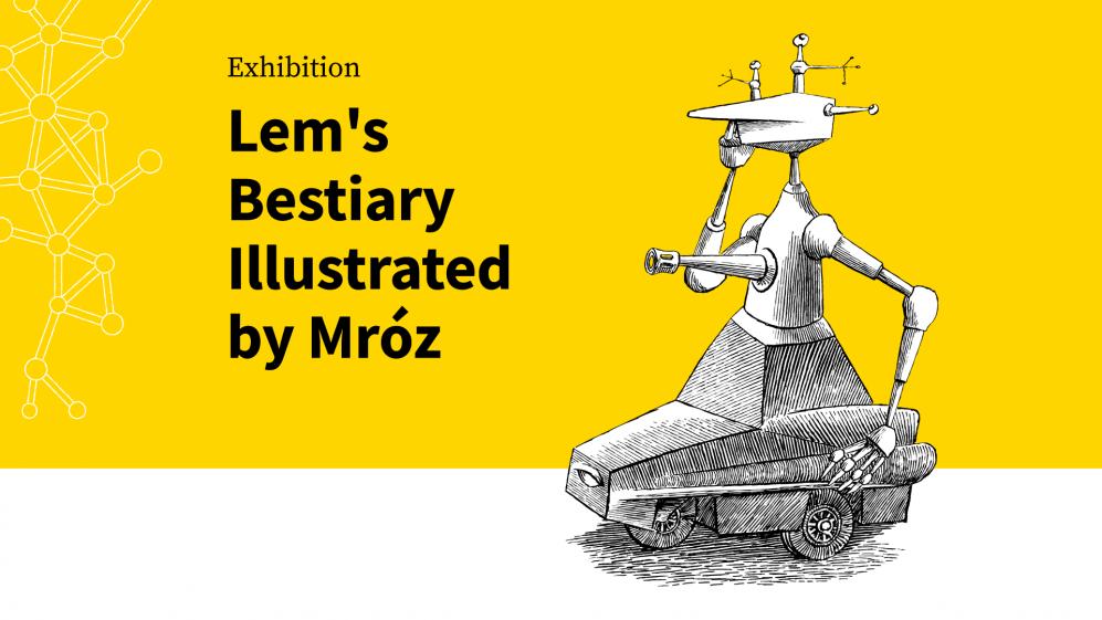 Lemov bestiár podľa Daniela Mróza - sprievodná výstava BIB 2021