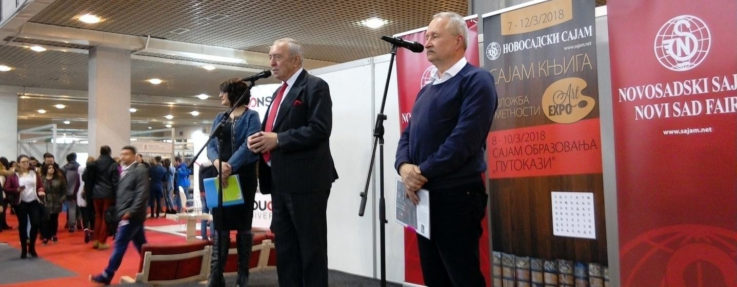 Bibiana i tento rok prijala pozvanie na medzinárodný knižný veľtrh v Novom Sade v Srbsku.