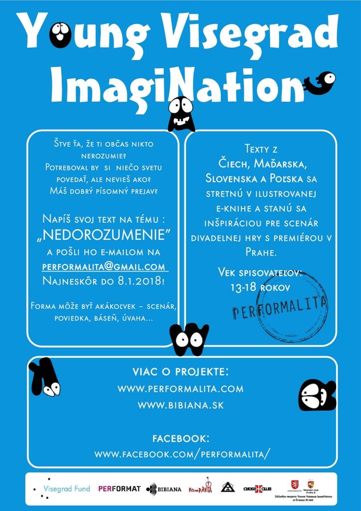 základné info o projekte Young Visegrad ImagiNation