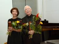Milada Šubrtová (CZ)a Ellis Vance (USA)