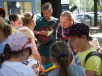 Deti v  hudobno-čitateľskom workshope