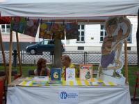 Slniečko - stánok Literárneho informačného centra