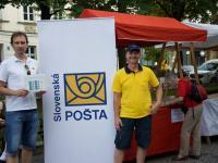 Stánok podporovateľa - Slovenská pošta