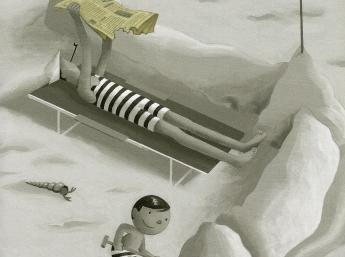 David Merveille: MR. HULOT AT THE BEACH