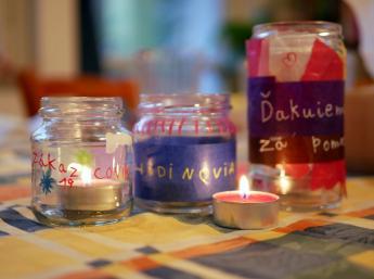 Svetielko vďaky - Doma s BIBIANOU