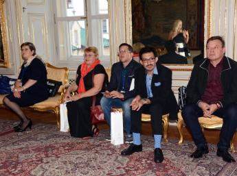 Medzinárodná porota BIB 2017 na bratislavskej radnici