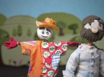 Bábkový film STRAŠIAK RUDKO z tvorivej dielne detí Ateliéru BAB