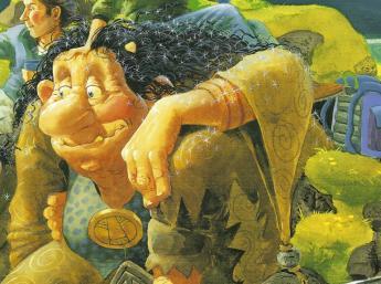 DYNKUR, ilustr. Brian Pilkington