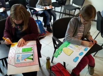 BAB Animation Express in library for children Slniečko in Prešov