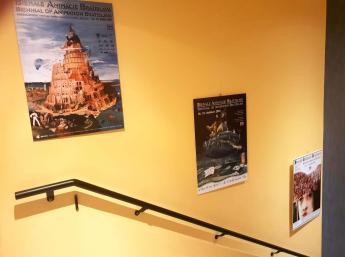 Výstava plagátov BAB – Pohľadom okoloidúceho v kine Les Nemours