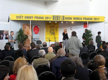 CENA DETSKEJ POROTY BIB 1993 – 2015 na veľtrhu v Prahe