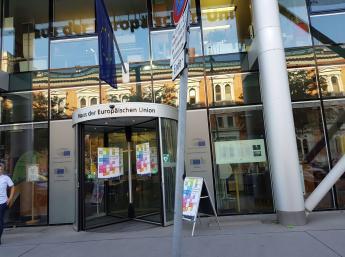 BIBIANA v Dome EU vo Viedni