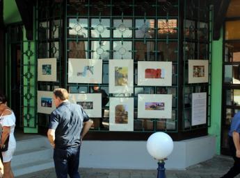Srbskí ilustrátori, ktorí sa zúčastnili na BIB a výstava detských kresieb s témou BIBIANA