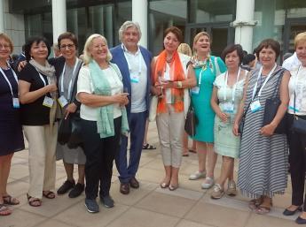 Na 36. Kongrese IBBY v Aténach sa stretli aj dlhoroční priatelia a partneri Bienále ilustrácií Bratislava.