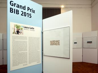 Exhibition of works by Grand Prix 2015 winner, Laura Carlin, United Kingdom
