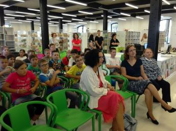 EUROPEAN TALES in the Library for Youth, Košice
