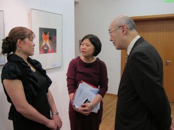 ILUSTRÁTORSKÝ OLYMP v Japonsko-nemeckom centre, Berlín - Nao Higano, Akiko Kawauchi a Masaru Sakato