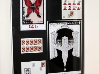 TYPO:GRAPHIC_S postage stamp