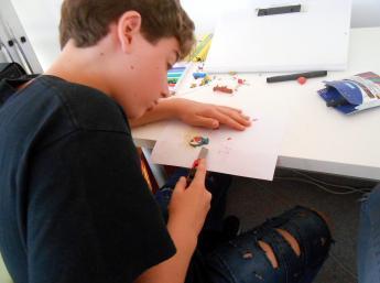 Mladí tvorcovia z Ateliéru BAB na Medzinárodnom workshope v ČakovciChildren from the BAB Atelier