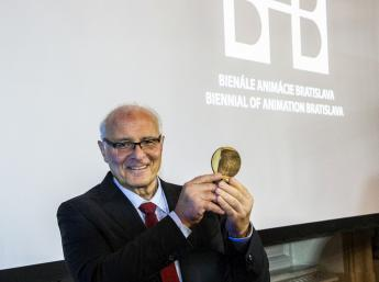 ALBÍN BRUNOVSKÝ Honorary Medal for outstanding contribution to the field of animation to the animation historian Giannalberto Bendazzi (Italy).