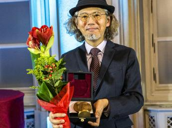 ALBÍN BRUNOVSKÝ Honorary Medal for outstanding contribution to the field of animation to artist, director, animator and educator YUICHI  ITO (Japan).