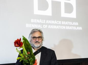 PRIX KLINGSOR as a life achievement award to a distinguished individual in the world of animation bestowed on director, artist and animator Michael Dudok de Wit (The Netherlands)