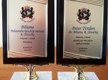Ocenenie z Vojvodiny pre BIBIANU