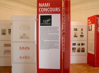 NAMI CONCOURS 2019- výstava ocenených ilustrácii