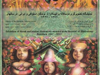 SLOVENSKÍ A IRÁNSKI ILUSTRÁTORI OCENENÍ NA BIB 1967 – 2017- Teherán
