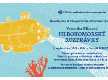 invitation card DEEP SEA TALES