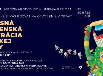 SÚČASNÁ SLOVENSKÁ ILUSTRÁCIA DETSKEJ KNIHY- nominačná výstava na BIB 2019