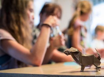 Skladali sme origami