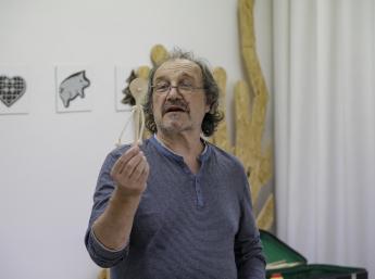 Na workshope Karla Vostárka fotil Dano Veselský.