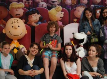Medzinárodná detská porota Annecy 2015