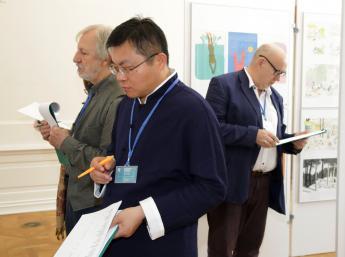 Zasadnutie medzinárodnej poroty BIB