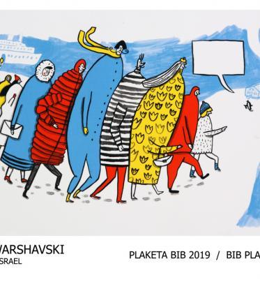 Ilustrátori ocenení na BIB 2019 - výstava na Kongrese IBBY v Moskve