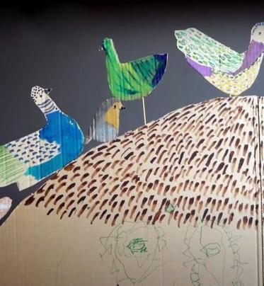 Vtáčik a lev - Doma s BIBIANOU