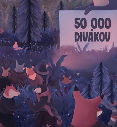 50 000 divákov