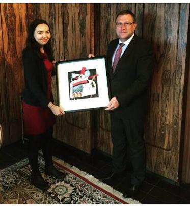 Odovzdanie ocenení BAB na Veľvyslanectve SR v LONDÝNE