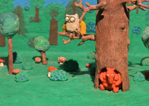 Animated film The Greedy Fox