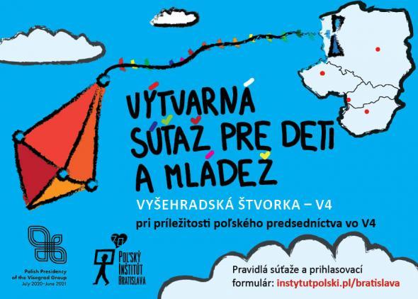 VÝTVARNÁ SÚŤAŽ PRE DETI AMLÁDEŽ-Vyšehradská štvorka – V4: Poľsko, Slovensko, Maďarsko, Česko