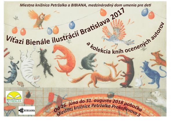 Illustrators awarded at the BIB 2017 in Petržalka