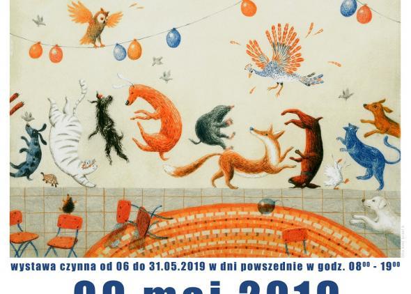 V rámci slovenského týždňa sa vo Varšave uskutočnila aj vernisáž výstavy 26. Bienále ilustrácii Bratislava 2017.