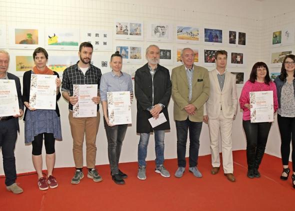 Výstava Srbskí ilustrátori na BIB 2003- 2017 na BookiLL Feste