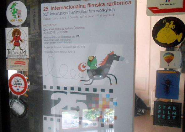 Mladí tvorcovia z Ateliéru BAB na Medzinárodnom workshope animovaného filmu v Čakovci (Chorvátsko)